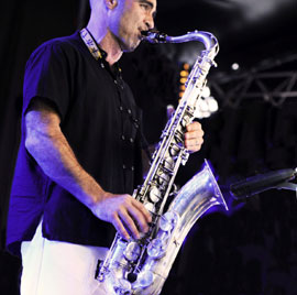 Parisi Jean-Charles (saxophone tenor)