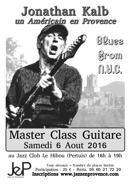 Concerts et Master Class de Guitare avec Jonathan Kalb