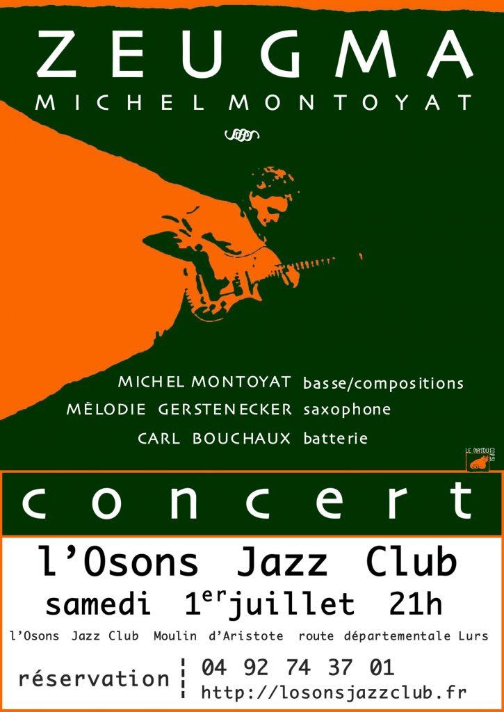 Concert et sortie d'album Jazz en Provence