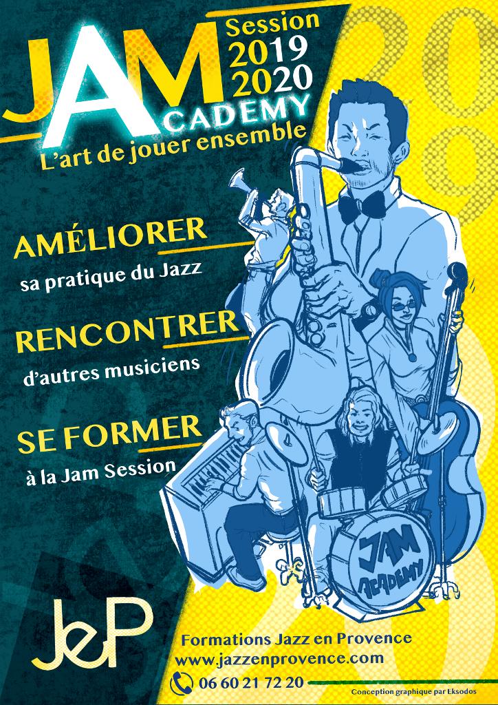 Jam Academy L'atelier de musique d'ensemble de Jazz en Provence